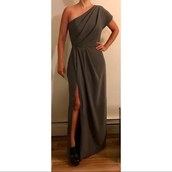 6ea35526f98 Lela Rose Dresses   Skirts - Lela Rose Charcoal Formal Dress